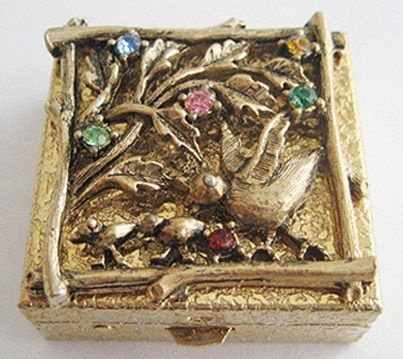 Small Pill Boxes Decorative 79 Best Vintage Pill Boxes Images On Pinterest  Pill Boxes