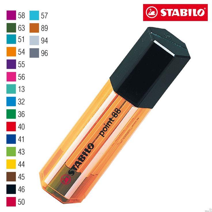 Estojo Caneta Stabilo Point 8820-1