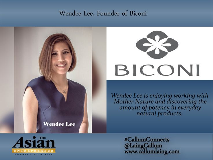 Wendee Lee is enjoying working with Mother Nature and discovering the amount of potency in everyday natural products.