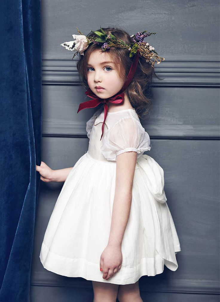 Nellystella LOVE Marissa Dress in White - N15F005 - PRE-ORDER