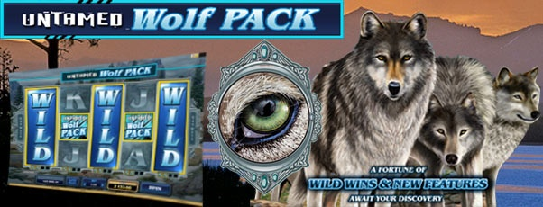 NEW!! Untamed Wolf Pack play at www.royal-vegas-casino.com