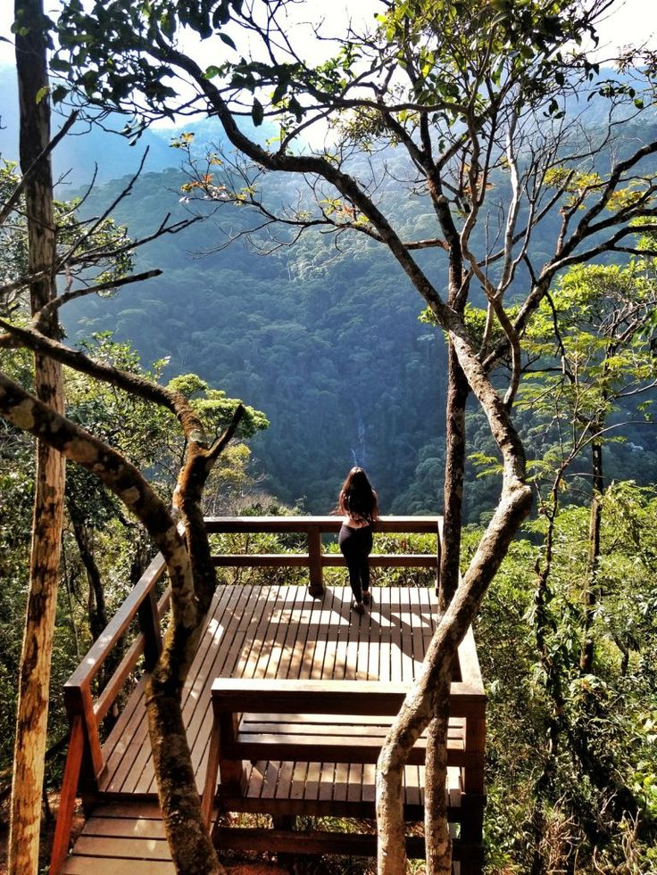 Mirante da Cascatinha, Parque Nacional da Tijuca, Rio de Janeiro - RJ