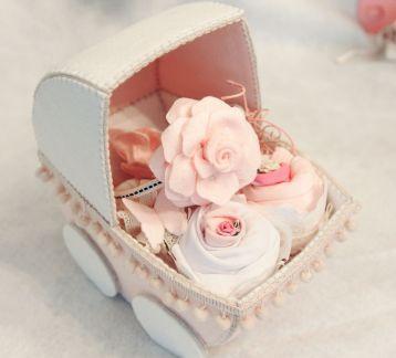 Kız Bebek Yenidoğan Hediye Sepeti
