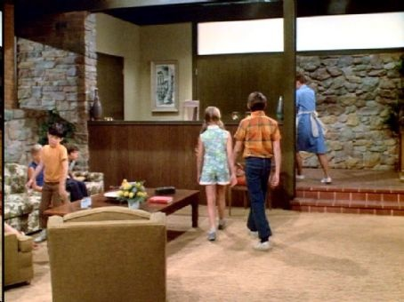 Brady Bunch Entryway