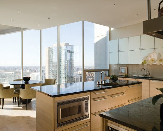 Perfect penthouse interior for rich people sleek for Kitchen designs gold coast