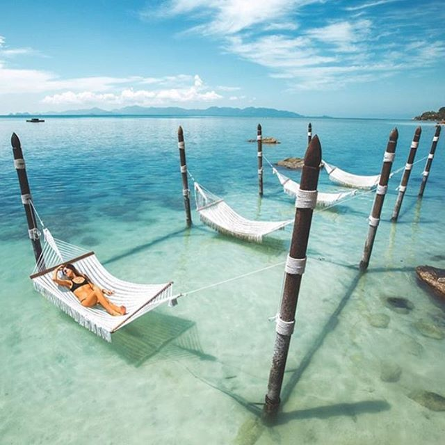 Good Morniiing!!! I wouldn't mind waking up at the Four Seasons hotel on Koh Samui- Thailand  @doyoutravel #FCtravels