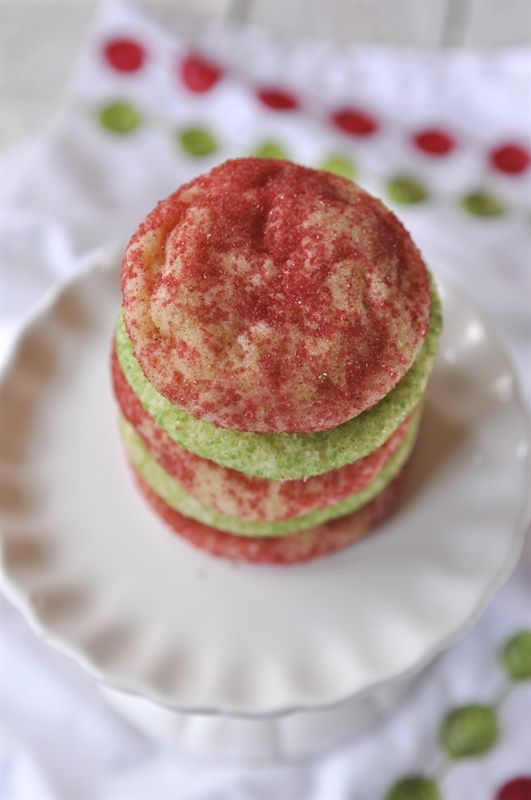 Christmas Snickerdoodles - the perfect addition to your holiday cookie plate!
