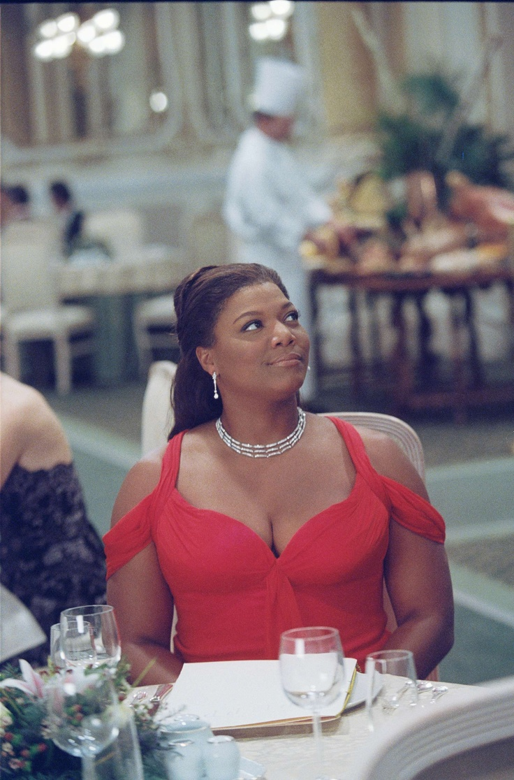 Last Holiday love the dress..Queen Latifah is always on point