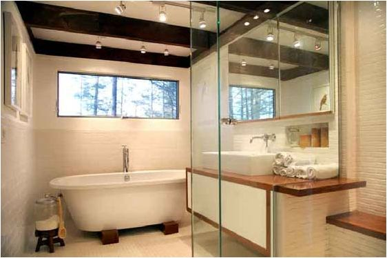 25 stunning mid century bathroom design mid century for Mid century bathroom ideas