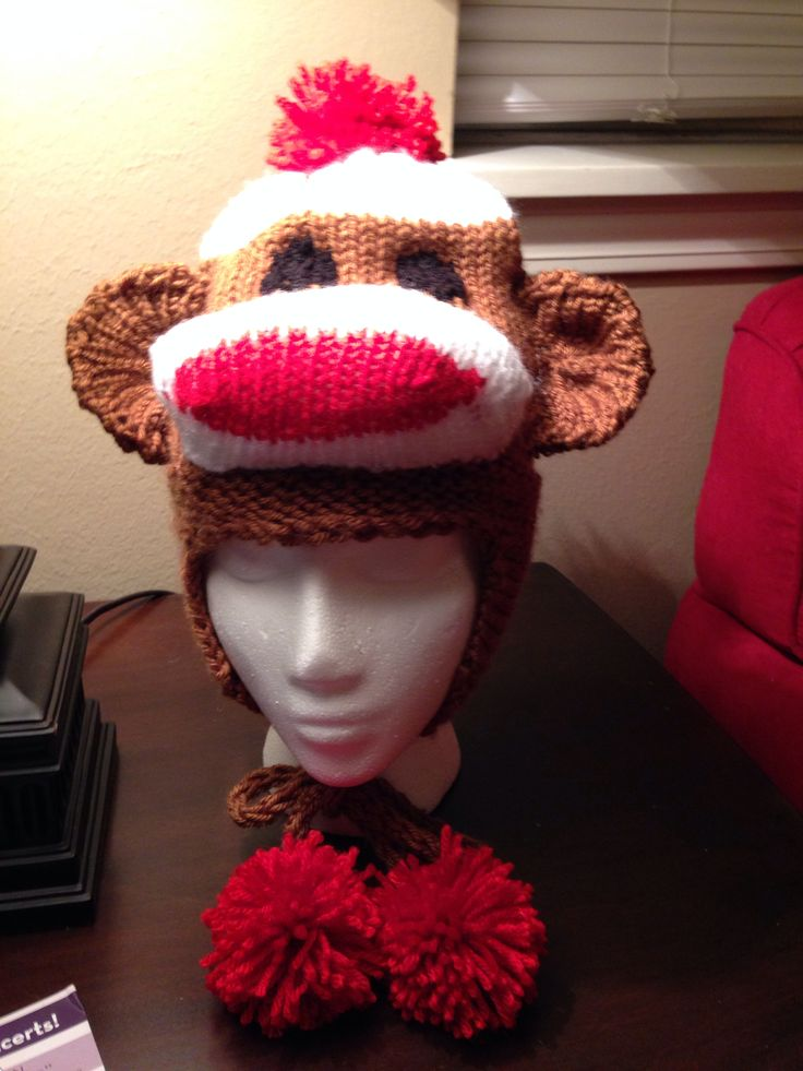 Knitting Pattern For Monkey Hat : 35 best images about Loom Knitting by Kalicokat on Pinterest Loom, Loom kni...