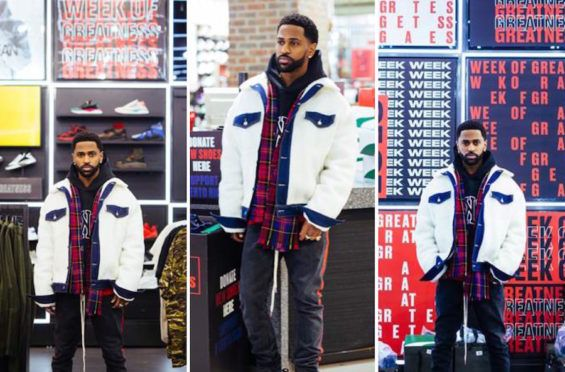 PUMA Ambassador Big Sean Shows Detroit Kids Love With Foot Locker's Week Of Greatness
