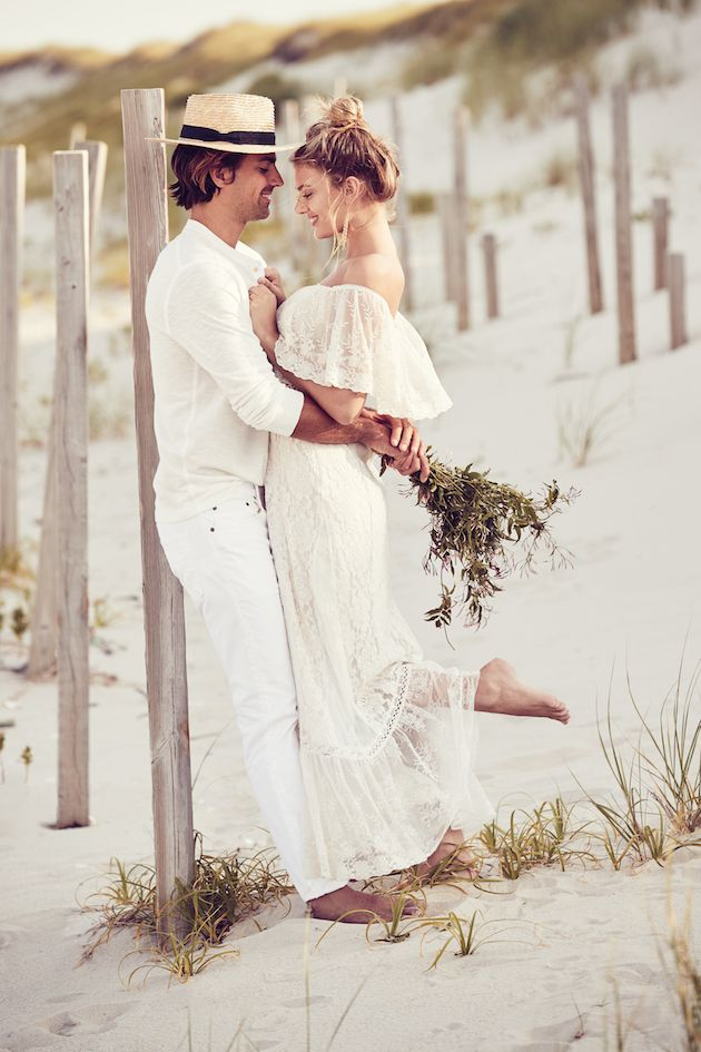 Gorgeous, effortless honeymoon style from @BHLDN.