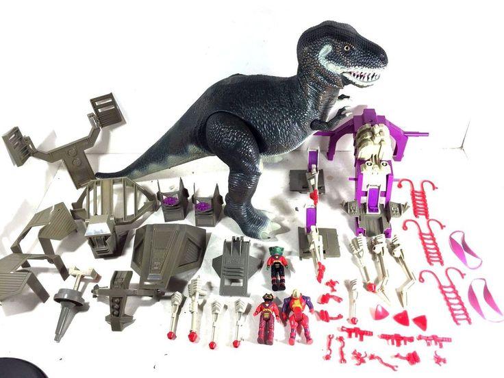 TYCO 1987 Dino Riders Tyrannosaurus Rex Bitor 100% Complete  #Tyco