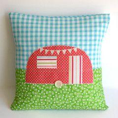 Caravan cushion