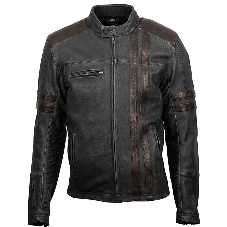 Scorpion 1909 Leather Mens Street Gear Motorcycle Jackets