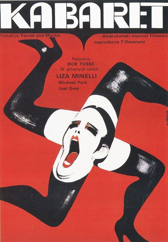 Polish Film Poster Cabaret Wiktor Gorka 72-1