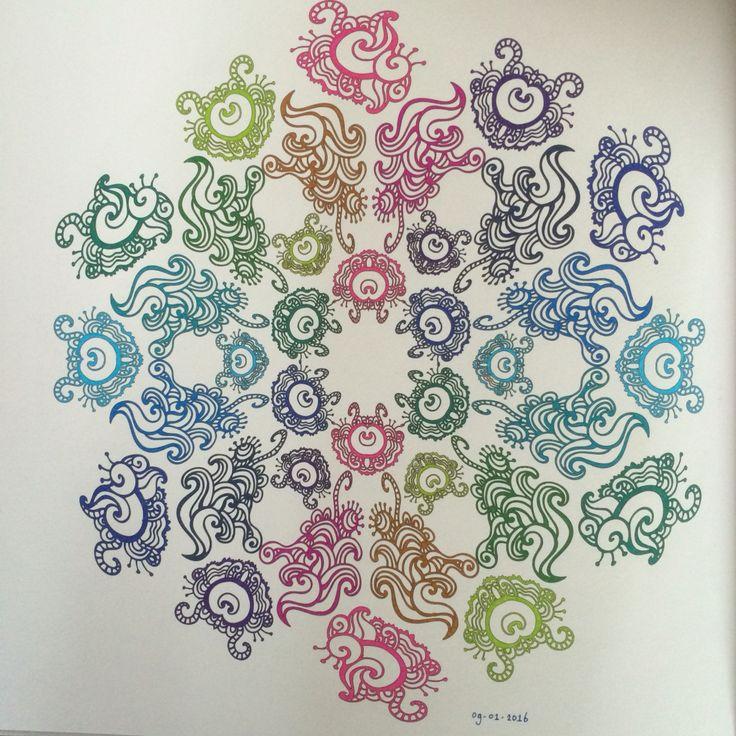 Het Enige Echte Mandala Kleurboek (deel 1) - Mandala nr. 47