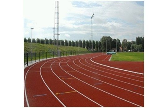The Herculan range of SR Sports Floors are a seamless, spike resistant, cushioned flooring system with point-elastic properties. The flooring system is suitable for interior and exterior commercial sporting facilities, children's play areas and large-scale commercial interior flooring applications, such as exhibition centres.