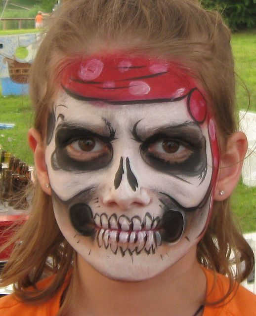 pirate skull by Funtastical faces, via Flickr