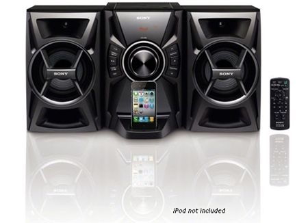 Sony Hi-Fi Mini System CD Player MHCEC609iP with iPhone/iPod Dock