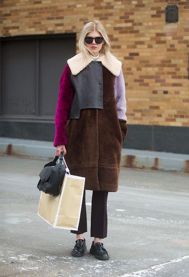 New York Fashion Week AW15 Street Style Part III