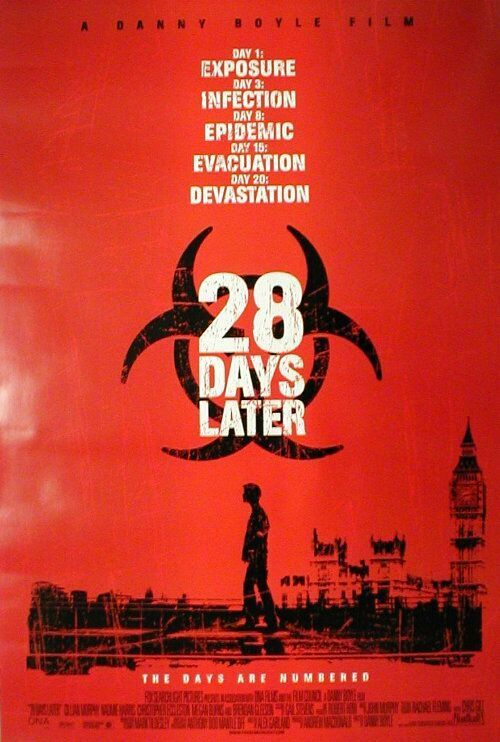 28 Days Later Movie Poster - Internet Movie Poster Awards Gallery