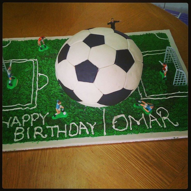 Pictures Of Soccer Ball Birthday Cakes