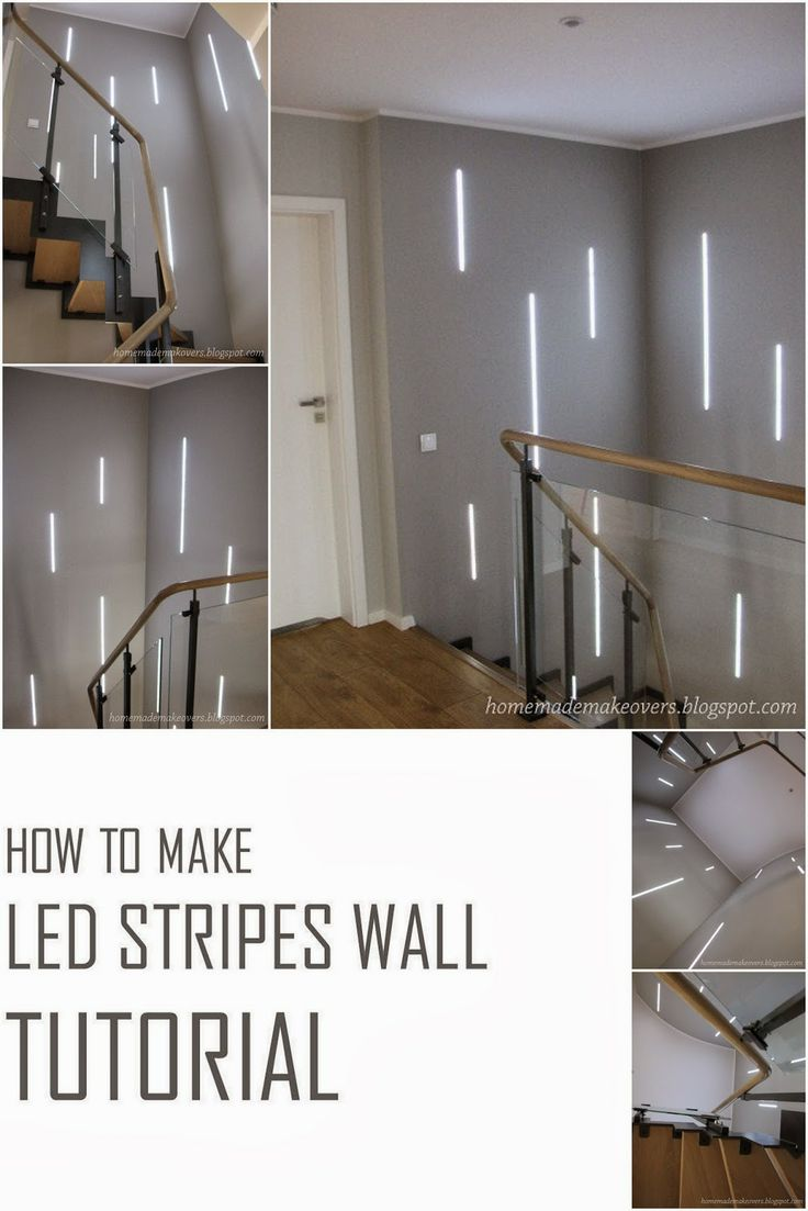 Die besten 25 led stripes ideen auf pinterest outdoor led strip homemade makeovers how to make led stripes wall tutorial parisarafo Gallery