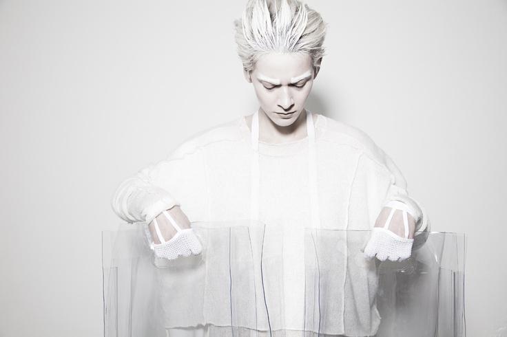 BEATE GODAGER // AW12WHITE #beategodager #womanswear #aw12white #scandinavian #fashion #conceptual #campaign