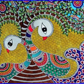 tree of life madhubani painting - Google Search