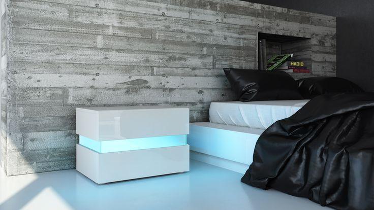 Nachttische, Kommoden und Nachtkonsolen fürs Schlafzimmer  vladon.de