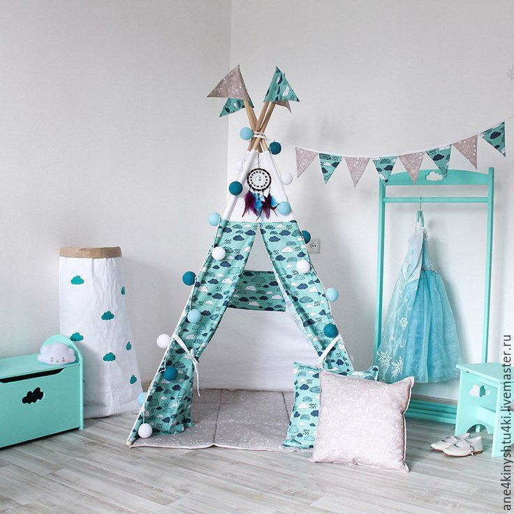 Wigwam for children's room