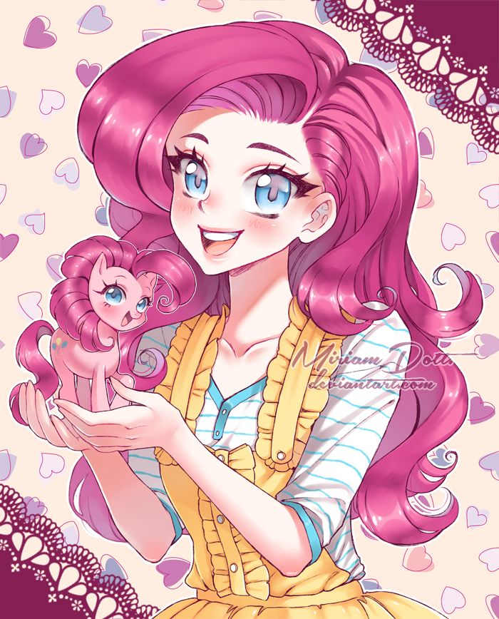 Pinkie pie human form anime