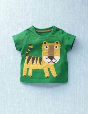 Z would love this tiger tee from miniboden.com.  And for that matter, he'd want the elephant and toucan versions, too!