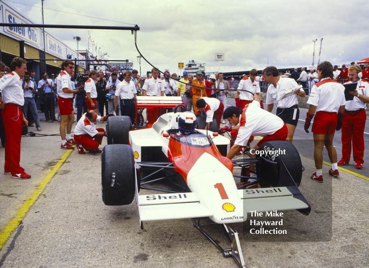 Alain Prost, Marlboro #McLaren MP4/3, British Grand Prix, Silverstone, 1987. #f1 #formula1