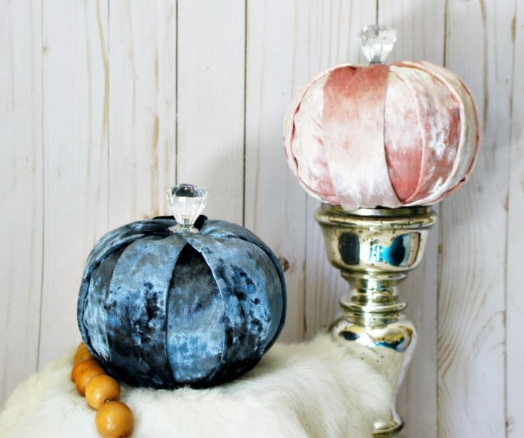 Quick And Easy Decoupage Dollar Store Pumpkins