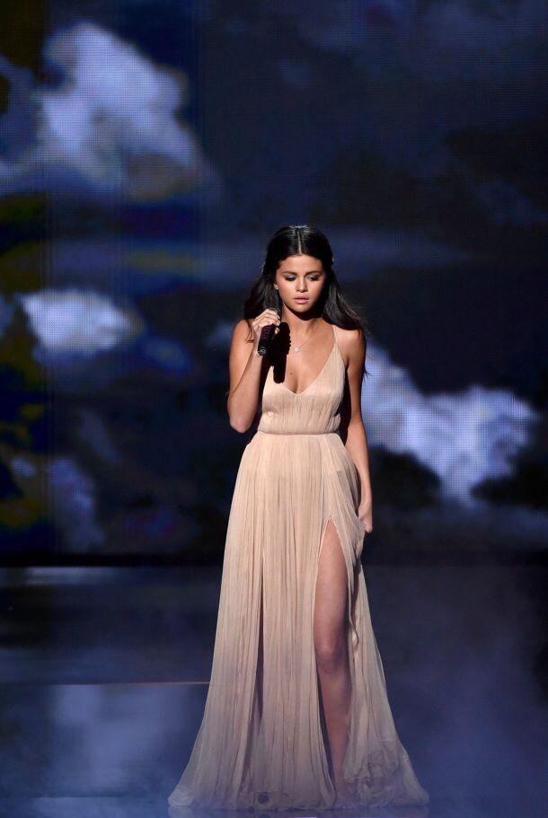 Selena Gomez in Armani.