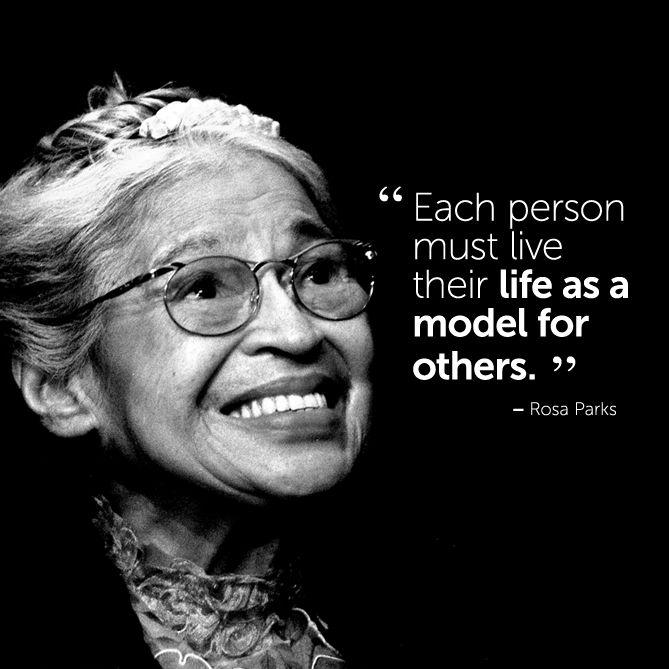 Rosa Parks Famous Quotes