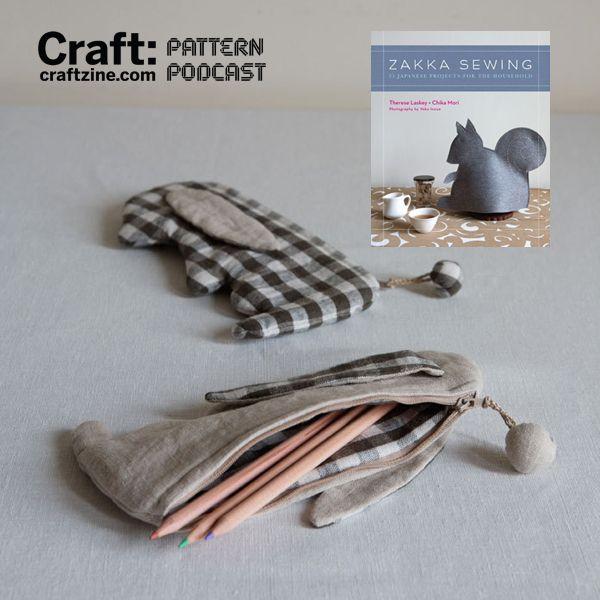 DIY Bunny Pencil Case + free pattern/template (download PDF)