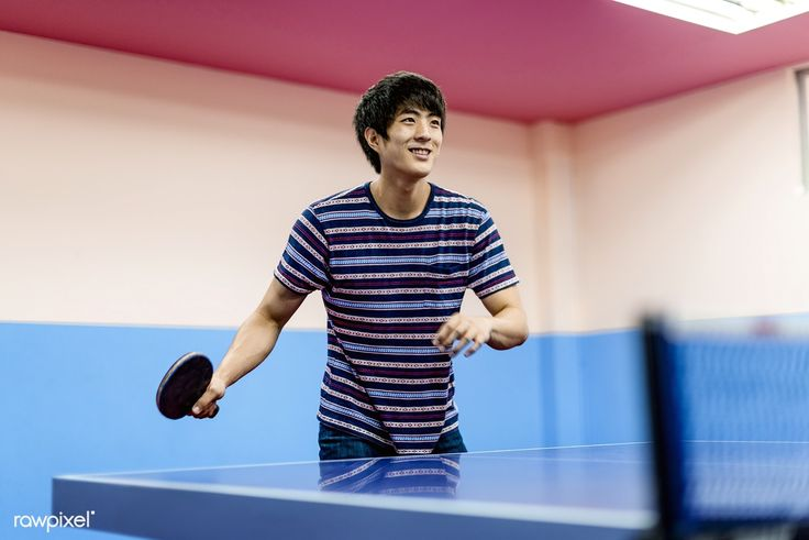 Download Premium Image Of Asian Guy Playing Table Tennis 49497 In 2020 Asian Men Tennis Photography Table Tennis