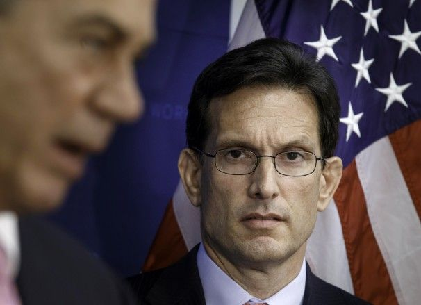 The seismic political consequences of Eric Cantor's stunning loss.  Maybe, perhaps, possibly there is a god.  Justice at least.