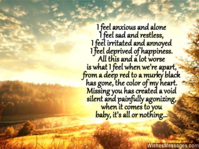 I Feel Anxious And Alone I Feel Sad And Restless I Feel