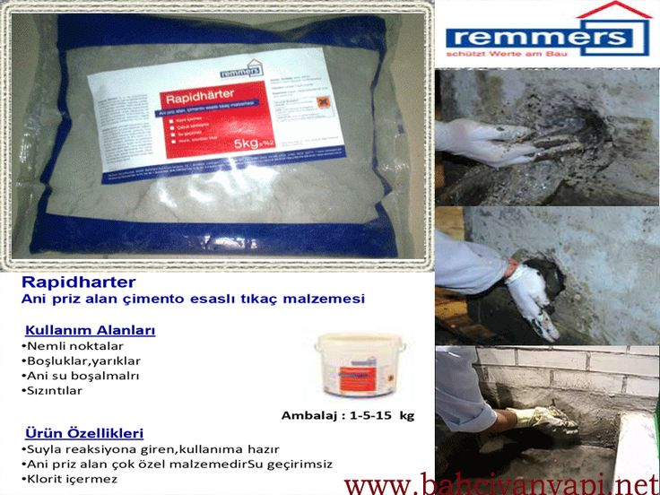 http://bahcivanyapi.net/izolasyon-grubu/remmers-yalitim-urunleri/beton-tamir-ve-koruma #sürme izolasyon #izolasyon   #yalıtım  #su #rutubet #nem #yıldırımtozu   #anipriz  #tıkaç