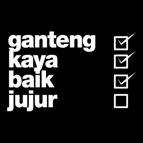 Ganteng Kaya Baik dari Tees.co.id oleh Kopiteh