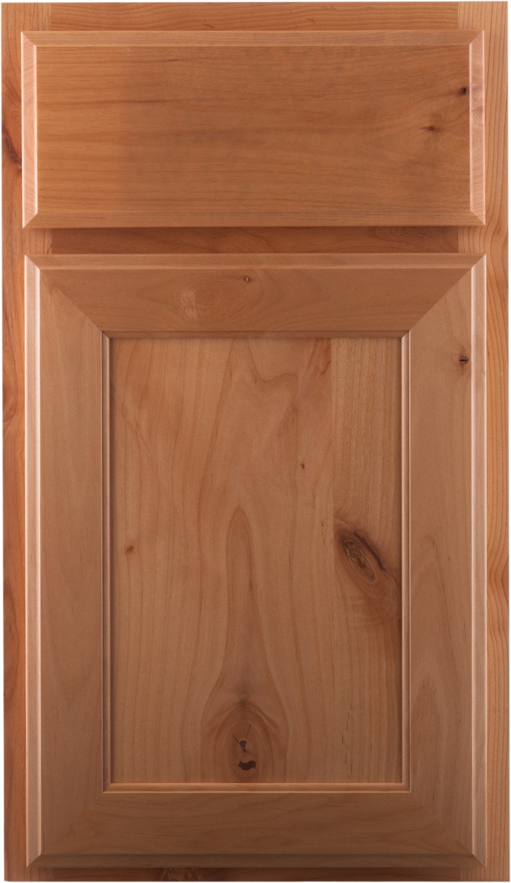 Crown Cabinets Regent Knotty Alder Natural Crown