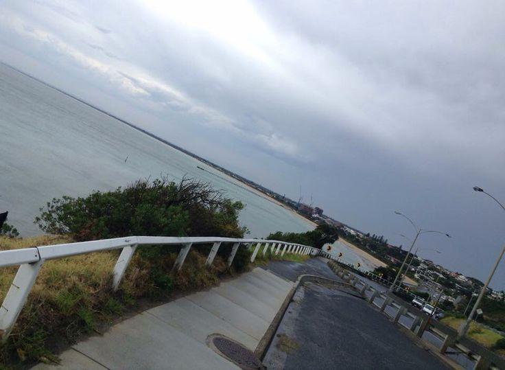 Frankston beach .. #gotRained #hugeStorm