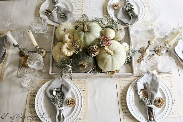 Craftberry Bush: Fall Tablescape