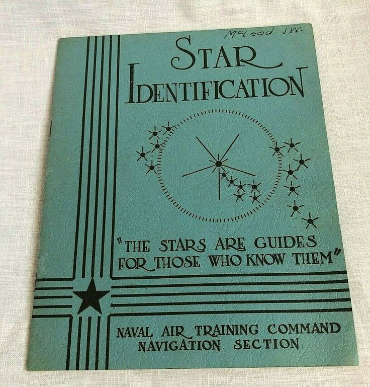 WWII Naval Air Training Command Star Identification