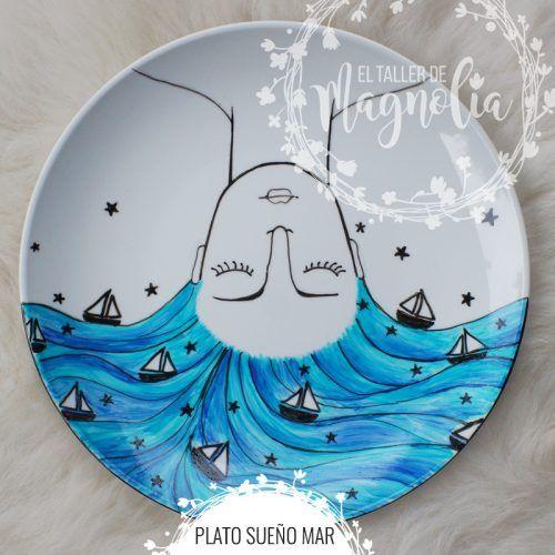 Plato Sueño Mar