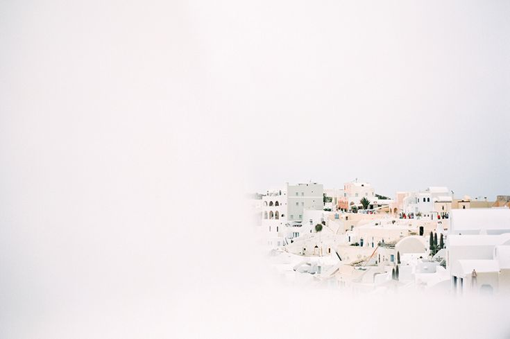 Santorini, Greece shot by Kate Holstein for Cereal
